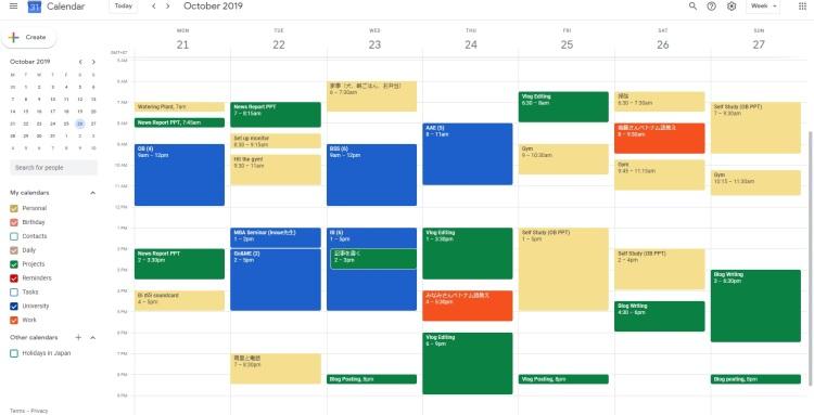 google calendar 5